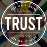 Do you trust us? A generic icon.